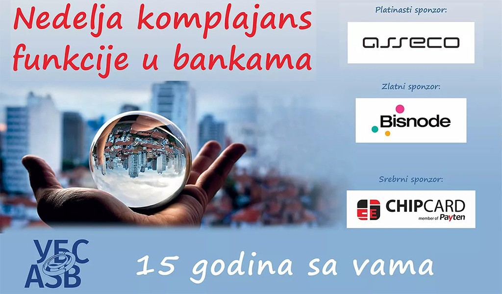 The virtual event The Week of the Compliance Function in Banks 2020 organized by the Association of Serbian Banks